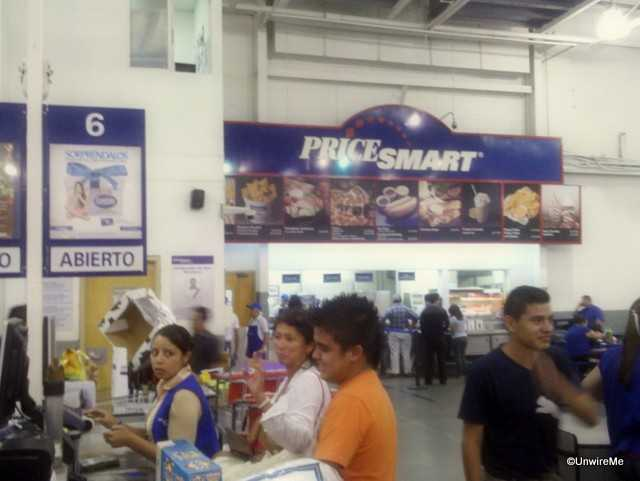 Cafeteria at PriceSmart Guatemala