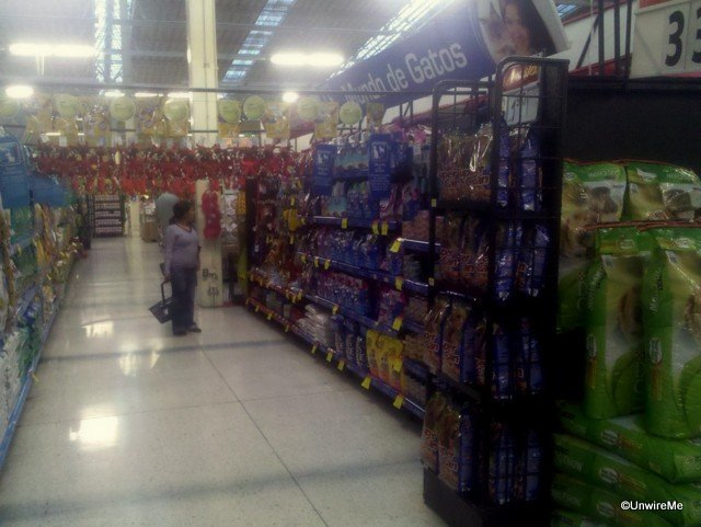 Walmart Guatemala - pet food