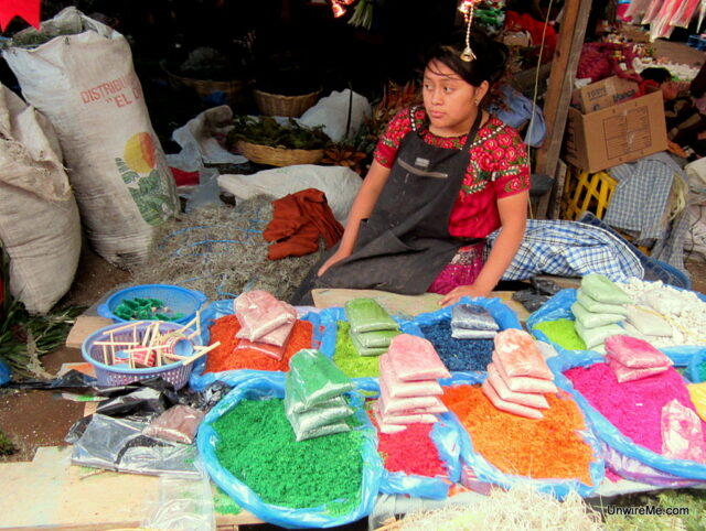 Christmas In Guatemala Christmas Eve Shopping At The