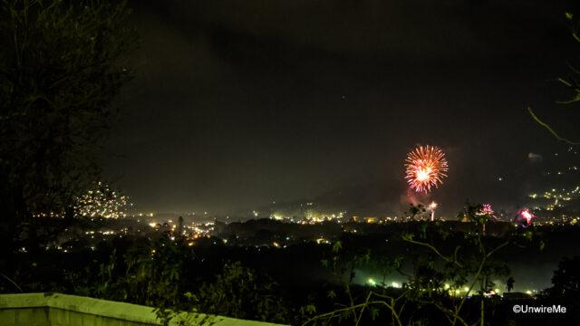 New Year's Fireworks Antigua Guatemala-1