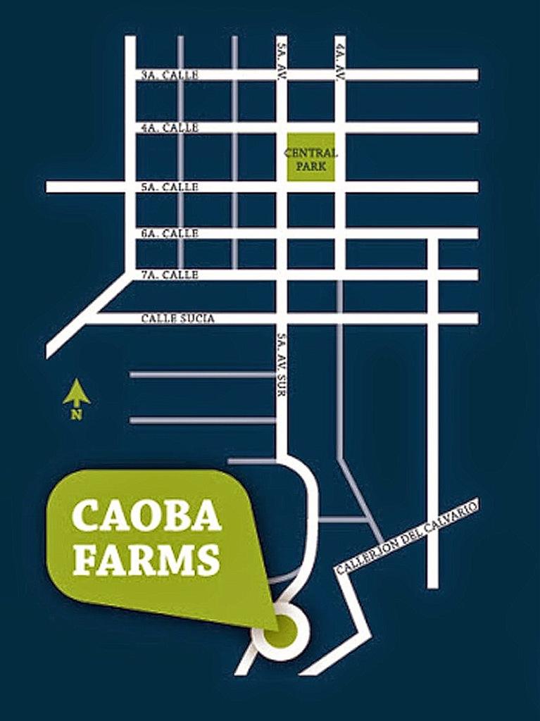 Caoba Farms Antigua Directions