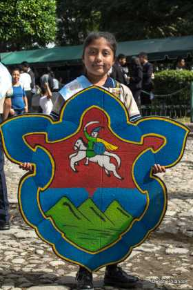 Antigua Guatemala's official shield
