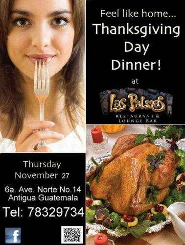 Thanksgiving Day in Antigua Guatemala