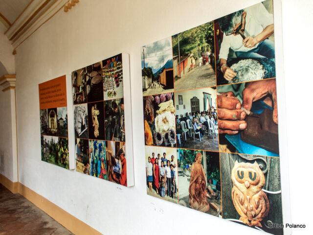 Display of local artisans' work