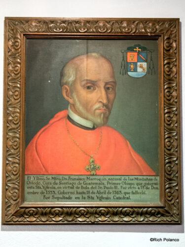 Portrait of Bishop Francisco de Marroquin