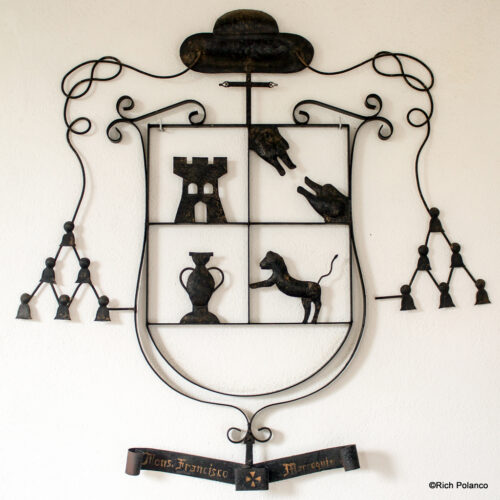 Coat of Arms, Archbishop Francisco de Marroquin