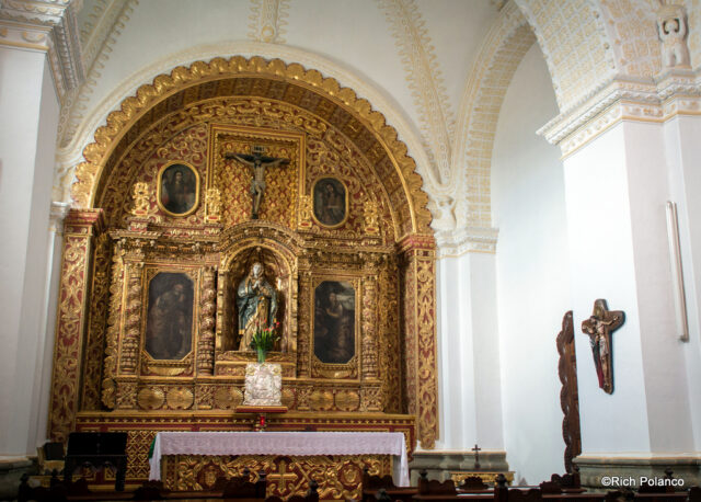 Marroquin's private chapel