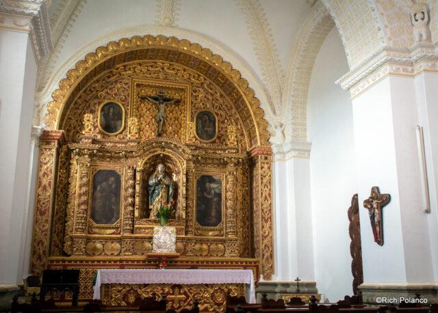 Marroquin's private chapel