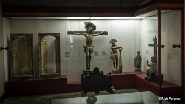 religious art at Palacio del Obispo