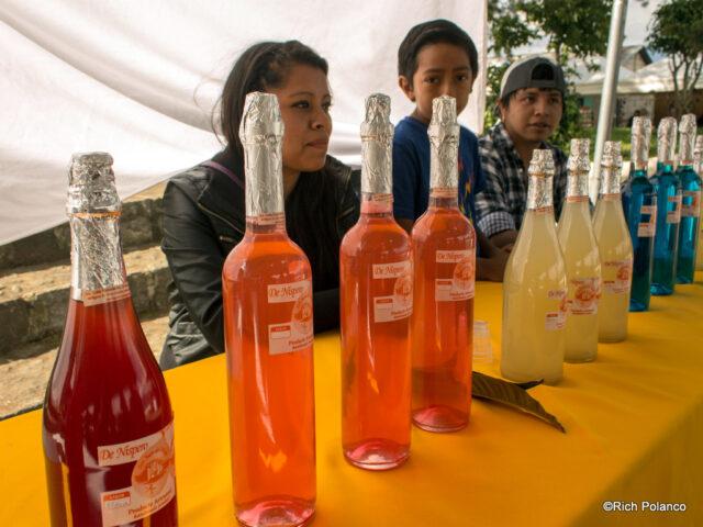 wine for sale at the nispero destival