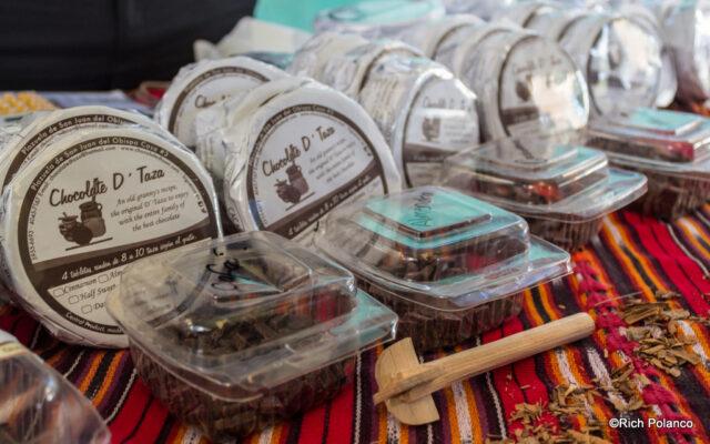 Chocolates d'taza in San Juan del Obispo