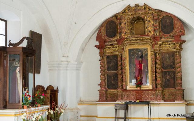 Chapel at San Juan del Obispo Church