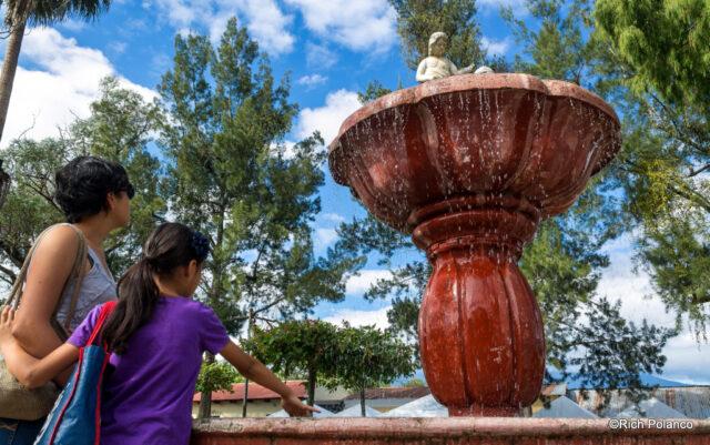 Fountain at San Juan del Obispo
