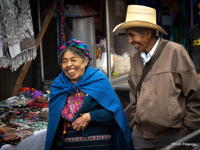 Guatemalan Indigenous Maya in Santiago Sacatepequez guatemala