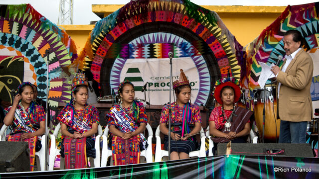 Mayan beauty pageant