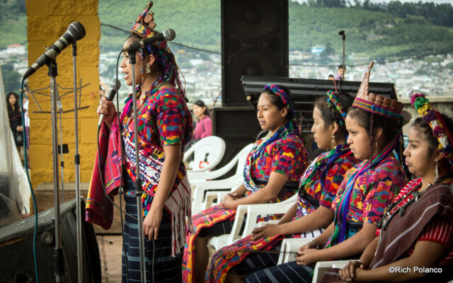 mayan beauty pageant speech