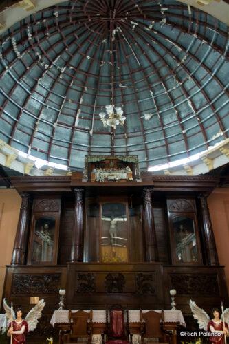 dome of Santiago Sacatepequez church