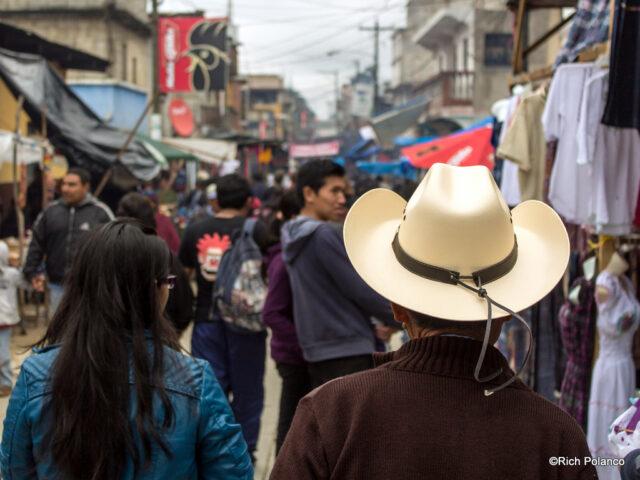 wearing hats in guatemala