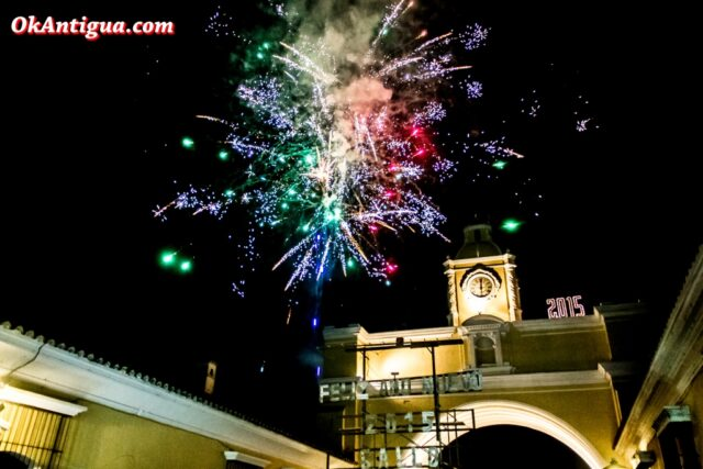 New Year's Eve Antigua Guatemala