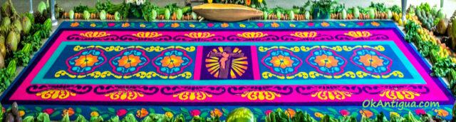 Flower Carpet Antigua Guatemala