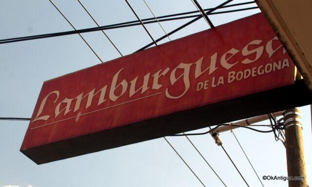 Hamburgers La Bodegona Antigua