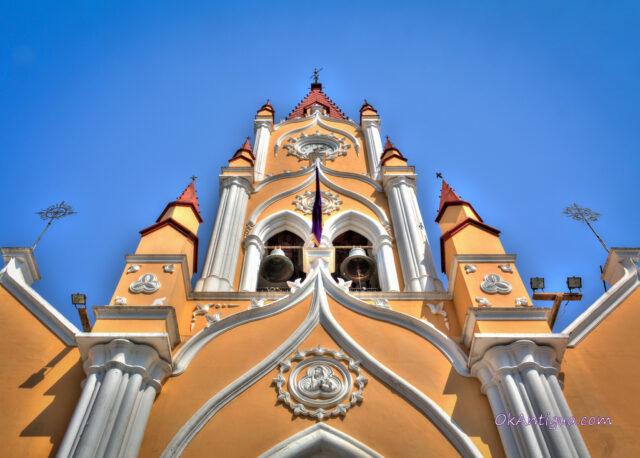 Lenten vigil in San Felipe de Jesus