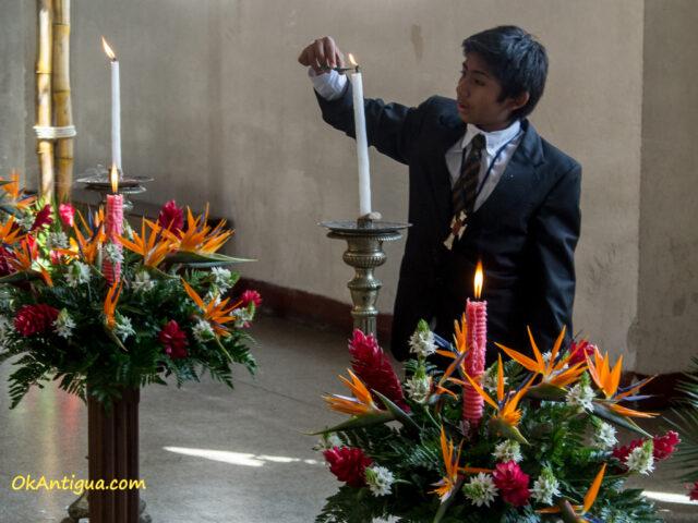 Velacion en San Felipe de Jesus