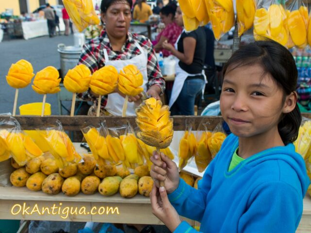 pepitoria y mango