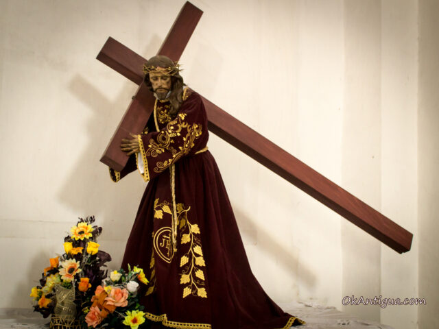 Jesus del Desamparo, San Jose Cathedral Antigua Guatemala
