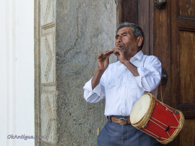 Lent music in guatemala
