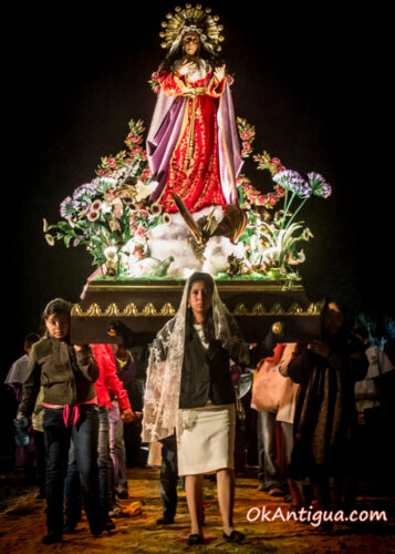 Procession, Virgen de Dolores