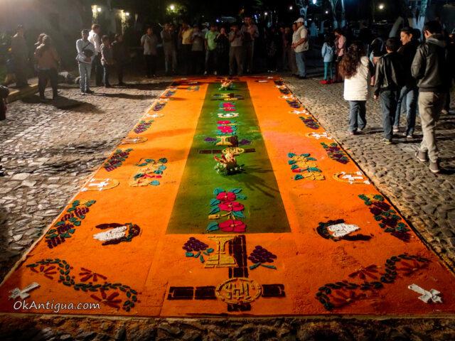 sawdust alfombra