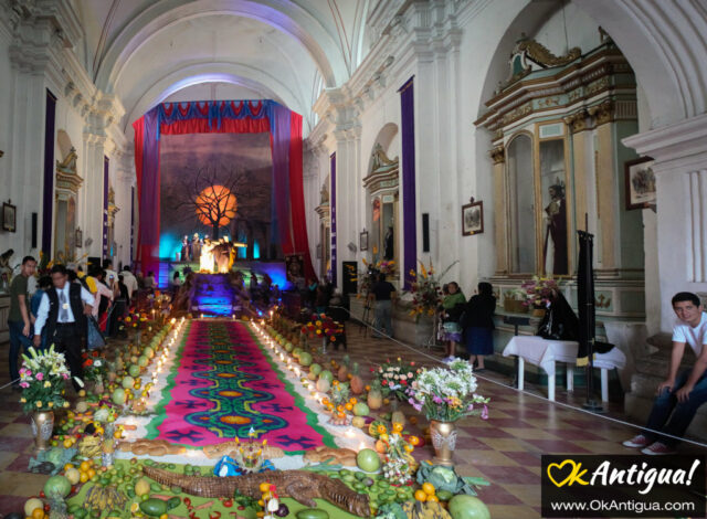 Vigil Jocotenango church Antigua Guatemala