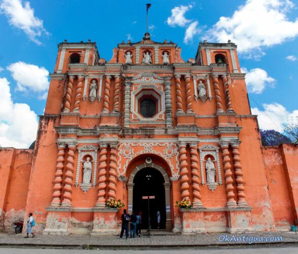 Jocotenango church Antigua Guatemala