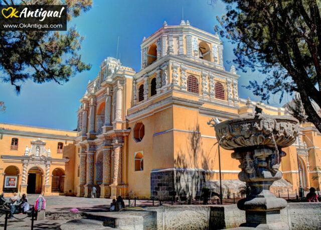 Impressive Iglesia de La Merced in Antigua Guatemala