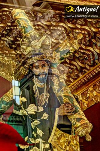 Jesus Nazareno sculpture at iglesia de La Merced