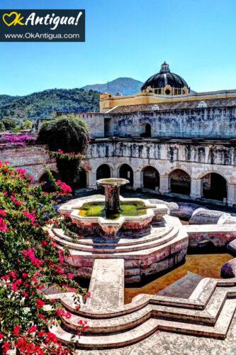 Fountain, Iglesia de La Merced, Antigua Guatemala