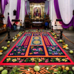 vigil, La Merced church Antigua Guatemala