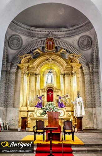 Retablo at Iglesia de La Merced