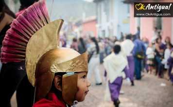 children's procession antigua guatemala