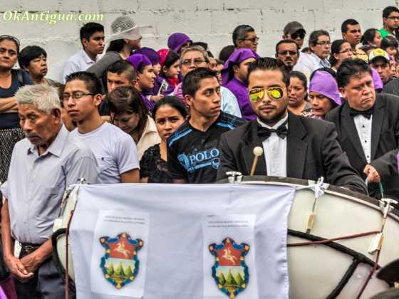 Procession Santa Ines Antigua Guatemala