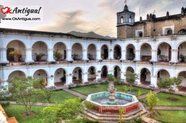 Escuela de Cristo Cuortyard, Antigua Guatemala