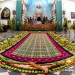 Alfombra Escuela de Cristo Antigua Guatemala