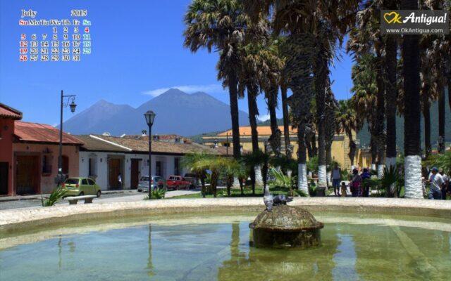 Parque de la Union, Antigua Guatemala