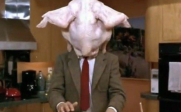 mr bean turkey