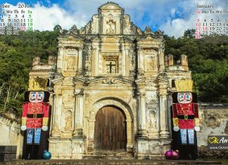 Santa Cruz ruins antigua guatemala