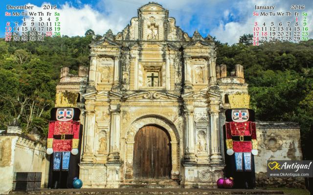 Nutcrackers at Ermita de la Santa Cruz