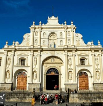 Antigua Guatemala Cathedral San Jose