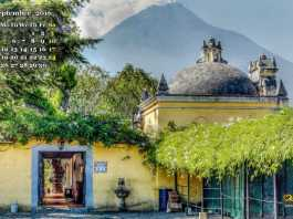 San francisco church Antigua Guatemala Wallpaper