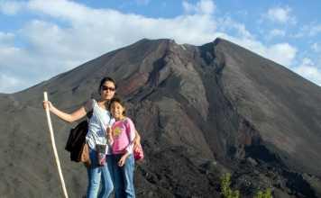 children pacaya volcano guatemala